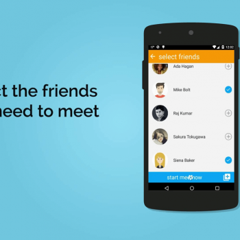 Анимирано рекламно explainer видео за мобилно приложение MeetNow 4