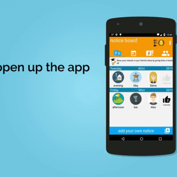 Анимирано рекламно explainer видео за мобилно приложение MeetNow 11