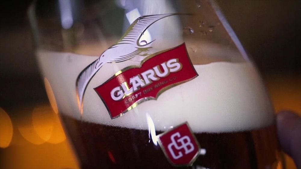Реклама на българската крафт пивоварна Гларус 13