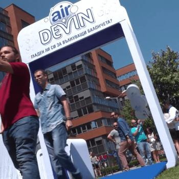 Видеозаснемане на промо събитие на газирана вода Devin Air 10