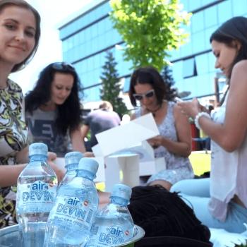 Видеозаснемане на промо събитие на газирана вода Devin Air 19