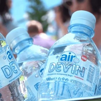 devin air газирана вода рекламен видеоклип изработка видеозаснемане