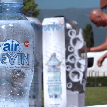 Видеозаснемане на промо събитие на газирана вода Devin Air 3