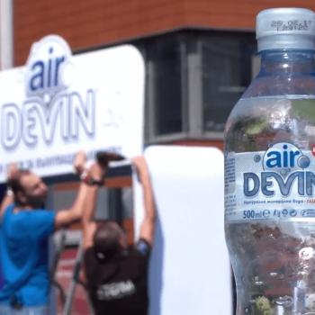 deving air газирана вода заснемане на събитие