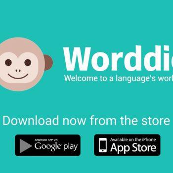 Анимирано рекламно explainer видео за мобилно приложение Worddio 15