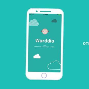 Анимирано рекламно explainer видео за мобилно приложение Worddio 13