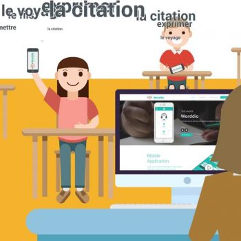 Анимирана видео реклама за уебсайта Worddio 8