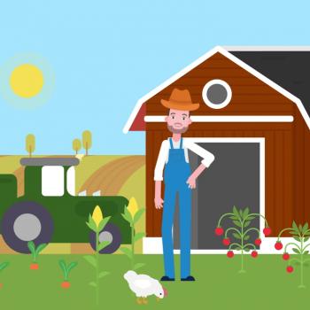 Анимирано рекламно explainer видео за Farmhopping | Ферми 4