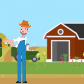 Анимирано рекламно explainer видео за Farmhopping | Ферми 10