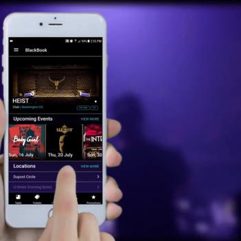 Рекламно промо видео за мобилно приложение Blackbook 8