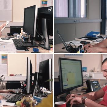 Продукция на корпоративно видео за Liebherr България 16