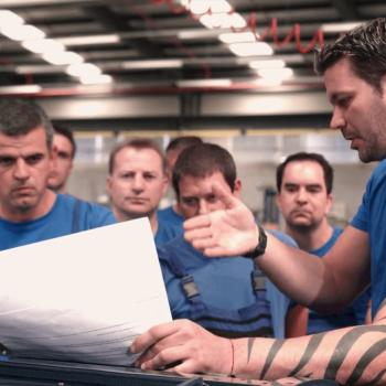 Продукция на корпоративно видео за Liebherr България 19
