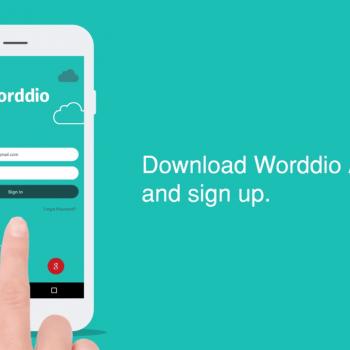 Изработка на анимирано обучително туториал видео за мобилна апликация Worddio 2