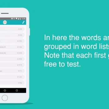 Изработка на анимирано обучително туториал видео за мобилна апликация Worddio 7