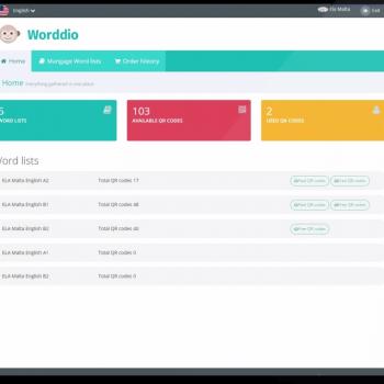 Изработка на анимирано обучително туториал видео за уебсайт на Worddio 18