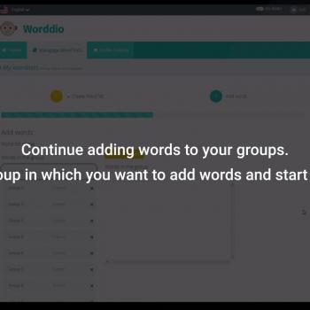 Изработка на анимирано обучително туториал видео за уебсайт на Worddio 12