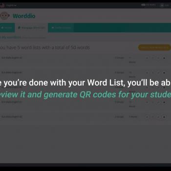 Изработка на анимирано обучително туториал видео за уебсайт на Worddio 14