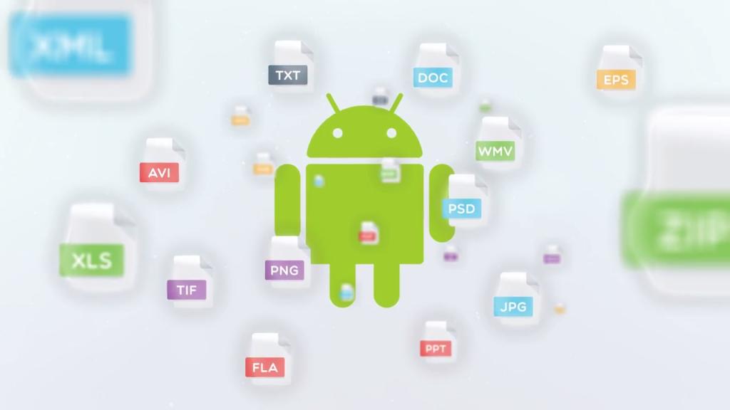 Анимирано рекламно видео за File Commander [приложение за Android] 4