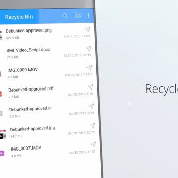 Анимирано рекламно видео за File Commander [приложение за Android] 14