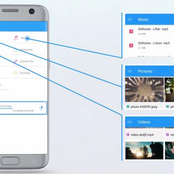 Анимирано рекламно видео за File Commander [приложение за Android] 7