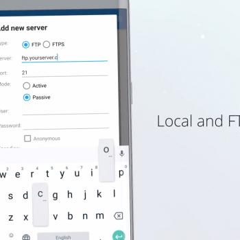 Анимирано рекламно видео за File Commander [приложение за Android] 12