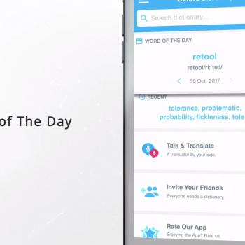 Анимирано видео за мобилното приложение за iOS Oxford Dictionary of English 13