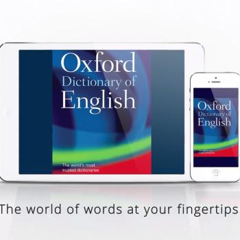 Анимирано видео за мобилното приложение за iOS Oxford Dictionary of English 8