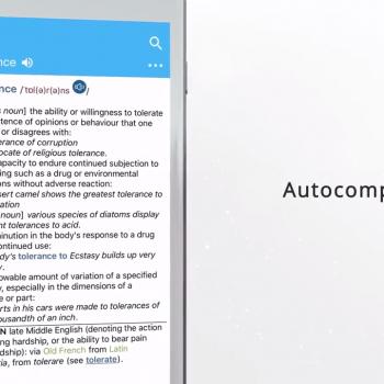 Анимирано видео за мобилното приложение за iOS Oxford Dictionary of English 11