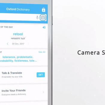 Анимирано видео за мобилното приложение за iOS Oxford Dictionary of English 12