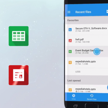Анимирано видео за мобилното приложение за Android - OfficeSuite 11