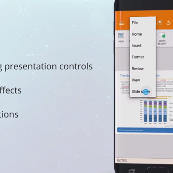 Анимирано видео за мобилното приложение за Android - OfficeSuite 14