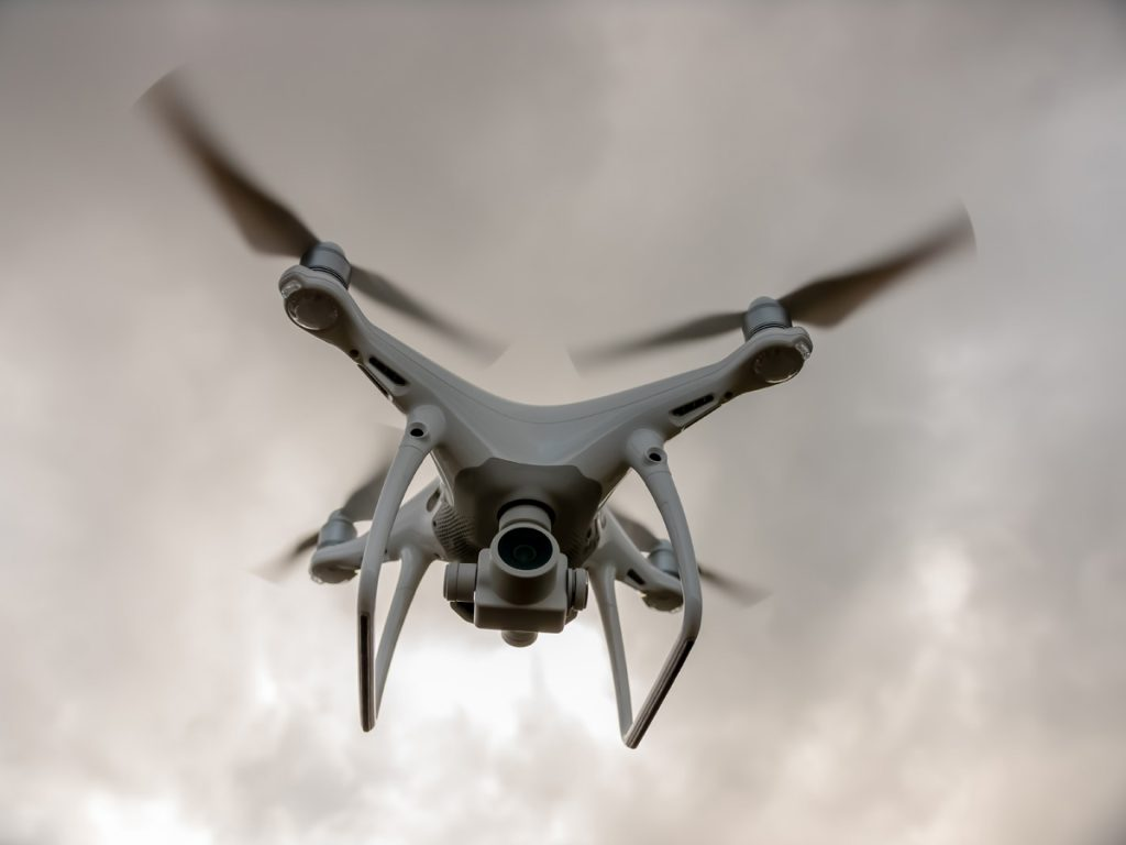 заснемане с дрон