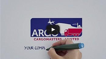 Анимирано видео в whiteboard стил за Argo Cargo 53