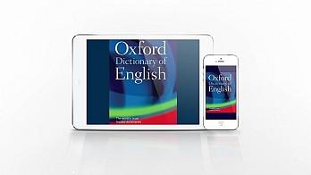 Анимирано видео за мобилното приложение за iOS Oxford Dictionary of English 2