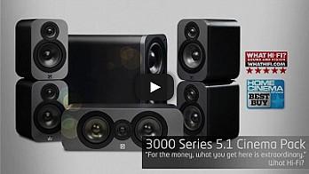Анимирано продуктово слайдшоу видео за Q Acoustics 3