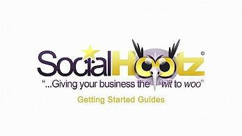 Лого анимация за Social Hootz 1