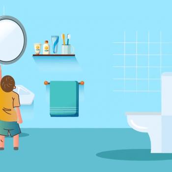 "Explainer видео реклама на ""Помощник за тоалетна"" 19"