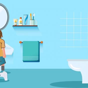 "Explainer видео реклама на ""Помощник за тоалетна"" 20"