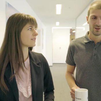 Изработка на рекламен видеоклип за HR отдела на Genius Sports 16
