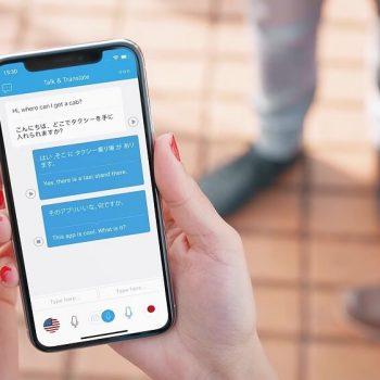 Заснемане и изработка на видео реклама на мобилно приложение Talk & Translate 10