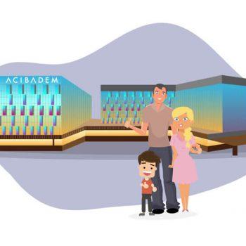 Изработка на explainer видео реклама за Acibadem Healthcare Services 14