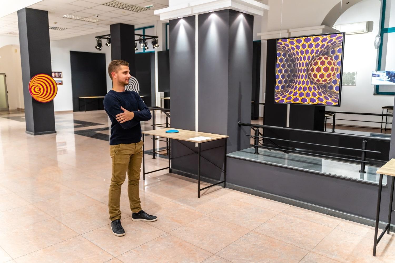музей на илюзиите рекламна фотография