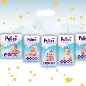 Изработка на анимиран видеоклип за бебешки пелени Pufies (Ficosota) 17