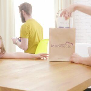 Изработка на телевизионна реклама за Mobisector.com - онлайн магазин за техника 6