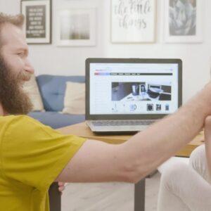 Изработка на телевизионна реклама за Mobisector.com - онлайн магазин за техника 8