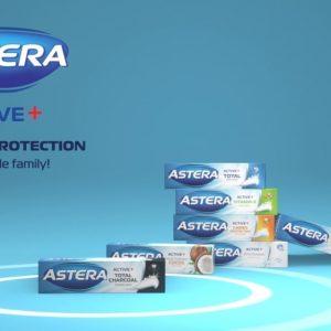 ТВ Реклама на Пасти за Зъби Astera Active+ 13