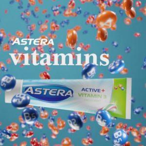 3d телевизионна реклама астера актив плюс