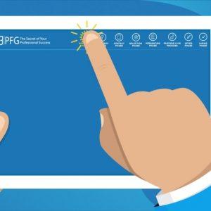 Изработка на Рекламно Експлейнър Видео за PFG Bulgaria | HR Процес на Работа 8