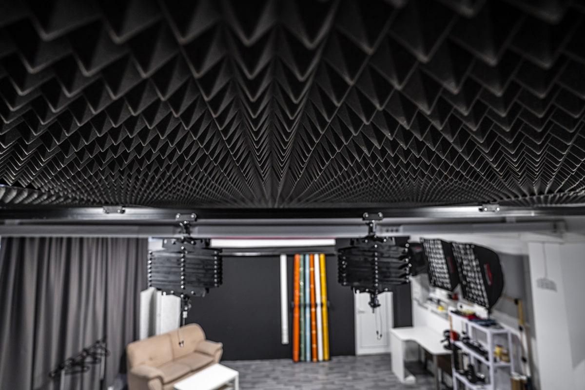 снимачно студио Studio246 звукопоглъщаща пяна