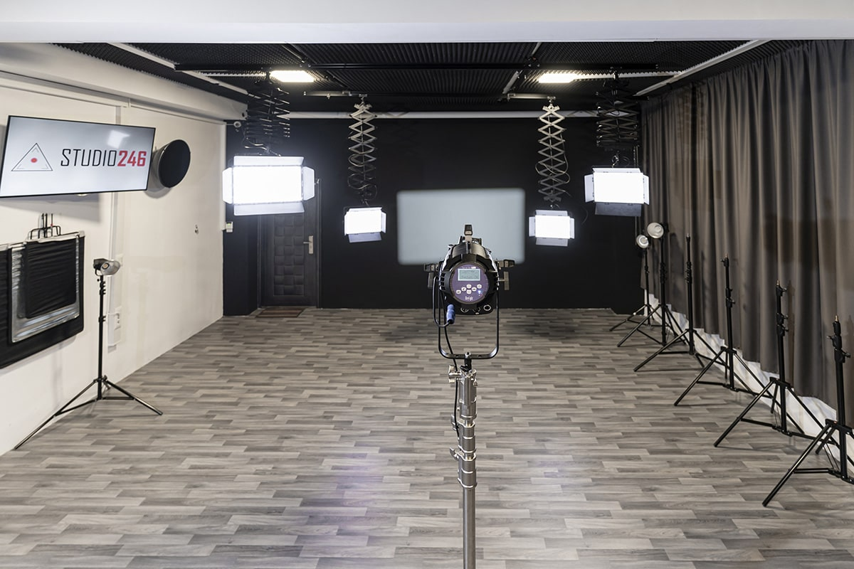 снимачно студио осветление